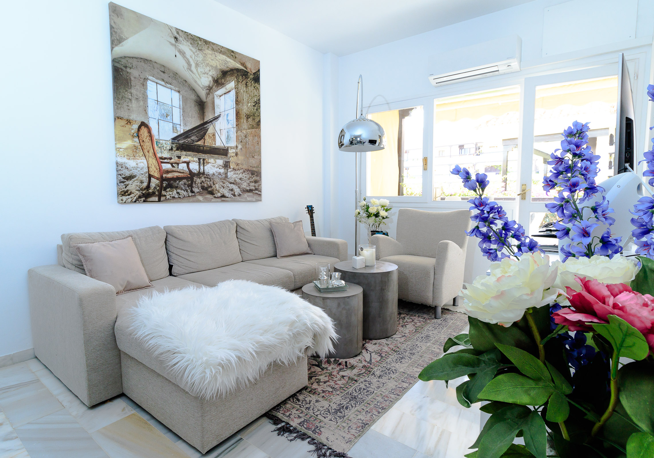 Living room in Marbella